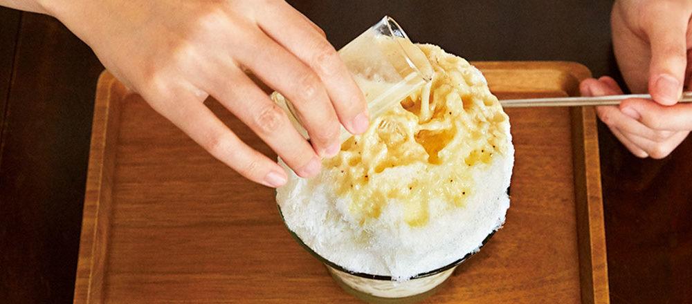 【東京】時尚刨冰咖啡館〈甘味 由井〉。春、夏、秋、冬,365天都生意興隆
