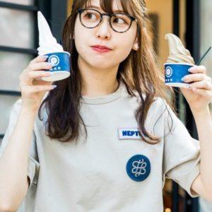 【三軒茶屋】來自台南〈蜷尾家/MINAO〉進軍日本,以台灣茶製作的霜淇淋是「清爽香甜」的口味。