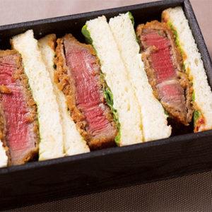 【京都】肉類超好吃的京都。「肉舖的炸牛排三明治」美味得沒話說。