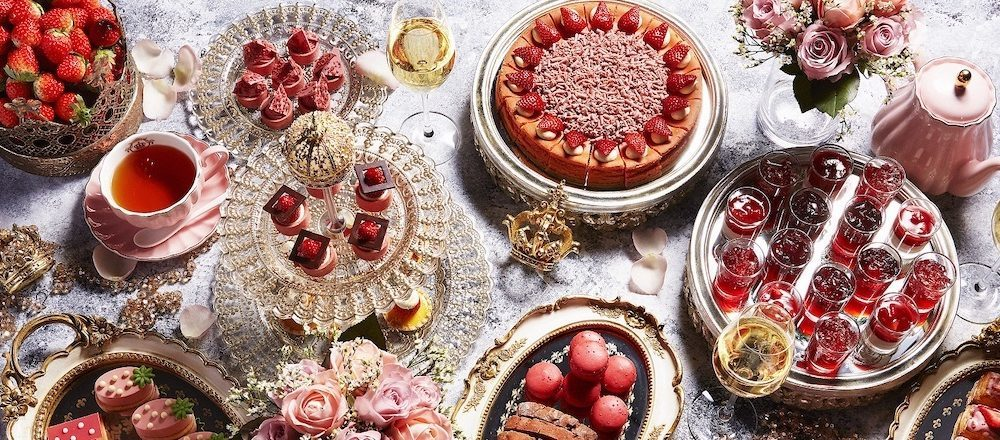 在宮殿般的華美空間裡享用各式品種的草莓甜點!「東京全日空洲際酒店」草莓祭開催中