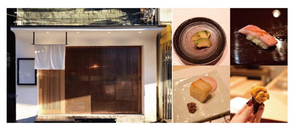 從菜單構思到捏製功夫上都毫不馬乎,壽司師傅們的師父親手料理的築地壽司店「Sushi Omakase」