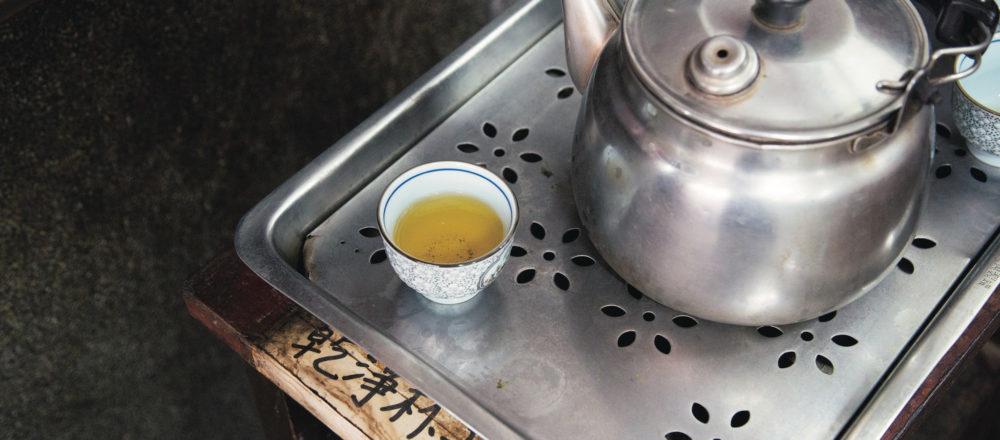 吸引台灣、日本的茶葉愛好者絡繹不絕前往,風韻猶存的老字號茶行「林華泰茶行」