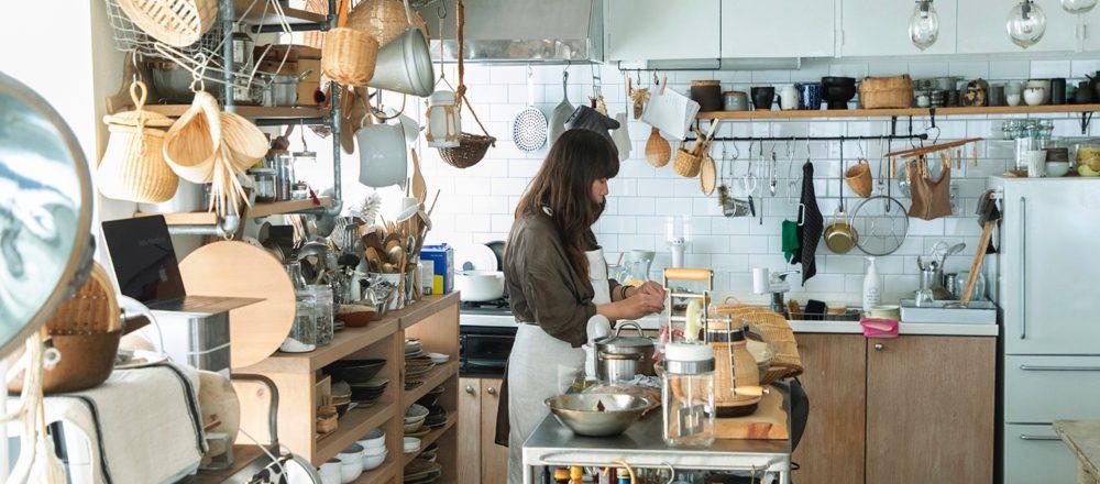 只有福田小姐本人才能創造出來的空間——陪伴了她10年的廚房,讓每個來過的客人來了就忍不住久待