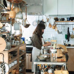 只有福田小姐本人才能創造出來的空間——陪伴了她10年的廚房,讓每個來過的客人來了就忍不住久待——Hanako Taiwan