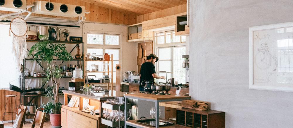身處在靠近自然的地方,工作氛圍就會完全不同:Sense30葉士豪的老屋改造術