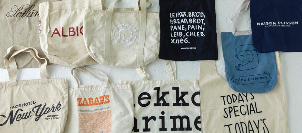 五花八門的環保購物袋 是紀錄了旅行回憶的相簿