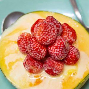 奢華的哈密瓜冰做法獨家公開!