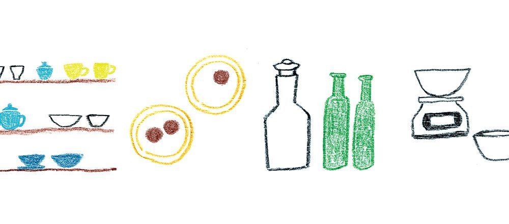 西式甜點擺放在日式碟子上也不違和!向5間當紅、新潮的店主學習器皿和廚房道具的擺設藝術