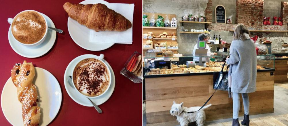 義大利流早餐。以卡布奇諾與布里歐許迎接美好的早晨