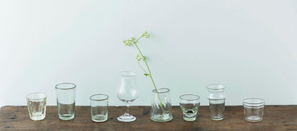 清透的琉球玻璃,溫和清爽、俐落優雅,最適合陳設使用的玻璃器皿-Hanako Taiwan