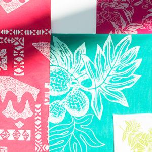 每一件艷麗布料都是獨一無二!令人愛不釋手的手作夏威夷印花布!——Hanako Taiwan