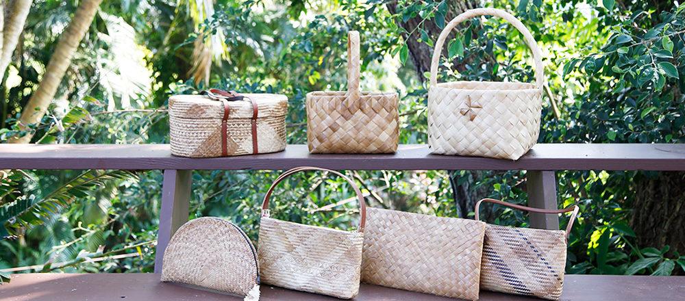 滿懷崇敬自然的心意,夏威夷傳統〈Lauhala編織手工藝〉