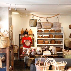 帶給中島志保女士滿滿靈感的籃子專賣店〈Kagoamidori〉-Hanako Taiwan