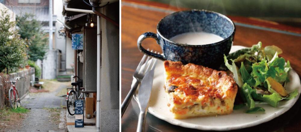 【京都】踩點京都神秘咖啡館「蒼々として」,隱藏巷弄內的雅致空間-Hanako Taiwan