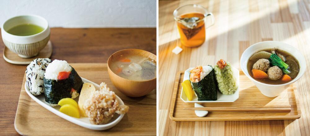 發現午餐絕配組合,茶專賣店享用日本茶與特色飯糰-Hanako Taiwan
