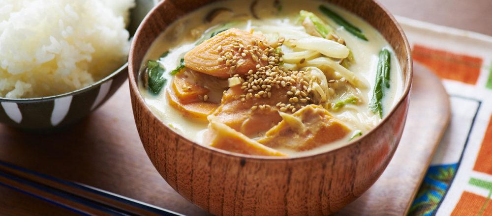 食物設計師傳授料理小技巧,輕鬆做無菜刀食譜「石狩鍋風味豆漿湯」-Hanako Taiwan