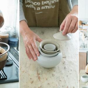 品牌創意總監福田春美不藏私分享,關於茶具選物的餐桌美學-Hanako Taiwan