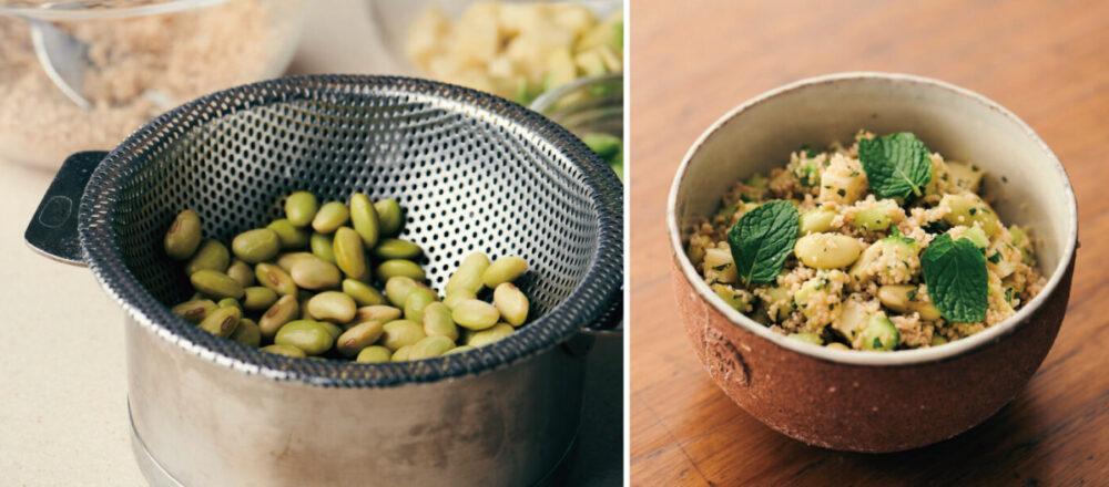 簡單做出豐盛又美味的健康豆沙拉——「秘傳豆&非洲小米沙拉」-Hanako Taiwan