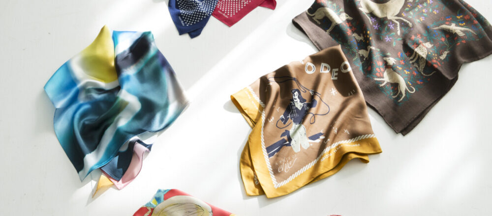 玩出今年春日造型新花樣,精選6款時尚絲巾引領春裝穿搭術!-Hanako Taiwan