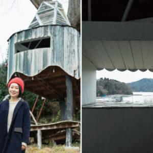 回歸童心的秘密基地!使用在地廢材建蓋風格樹屋,以不同視角發現東北動人之美-Hanako Taiwan