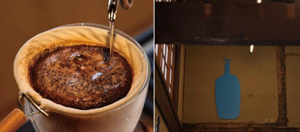 【京都】當有咖啡界Apple之稱的藍瓶咖啡,走進和風京都!「藍瓶咖啡京都店」成為首間提供套餐的咖啡館!-Hanako Taiwan