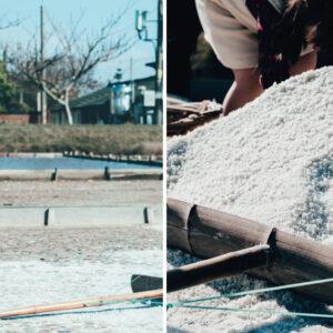 【Column】洲南鹽場的七字訣竅:「水地風光人曬鹽」,重生200年歷史的鹽田風貌-Hanako Taiwan
