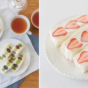 甜點也能萌萌的!料理達人教授零失敗技巧,輕鬆做出「萌斷面水果三明治」-Hanako Taiwan