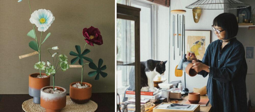 讓不起眼的盆栽成為居家美麗風景,造型高手不藏私,分享用小道具佈置的妙招-Hanako Taiwan
