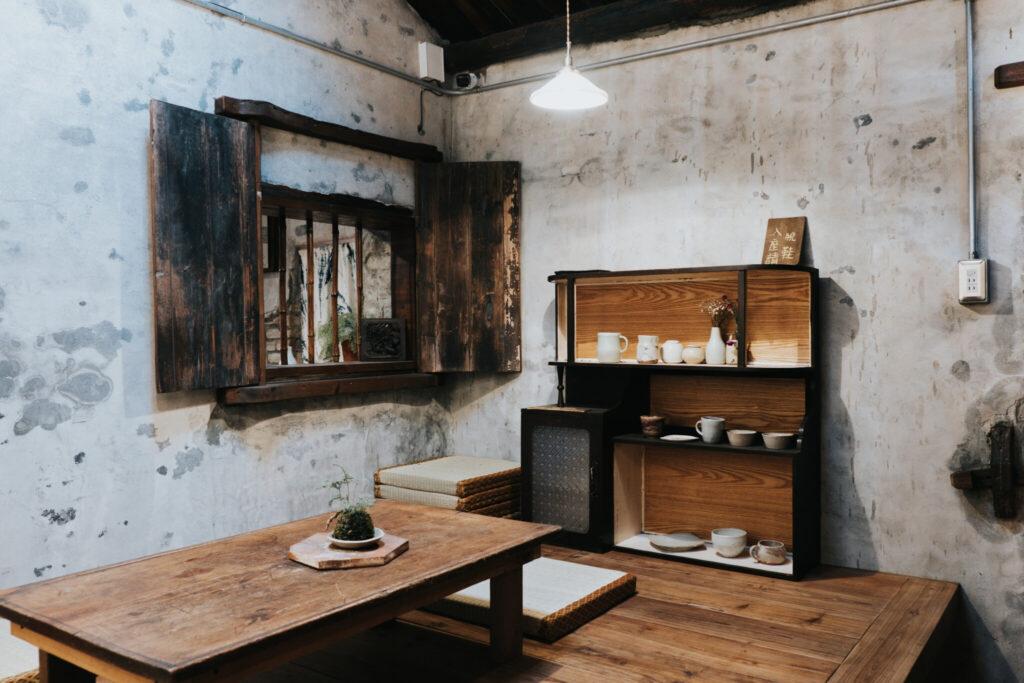 力野茶陶所的品茗空間