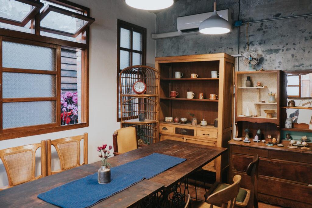 古色古香的茶館環境