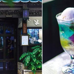 京都最有夢幻色調的喫茶店!巷弄裡的懷舊咖啡館「喫茶Soiree」,花窗玻璃與目眩神迷的寶石果凍,引人慕名一再拜訪-Hanako Taiwan