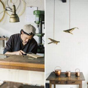 乘載千年的京都工藝備受推崇,鍛金、團扇、清水燒,新一代職人融會傳統與新意,延續展現新世代京都藝術美之精髓-Hanako Taiwan
